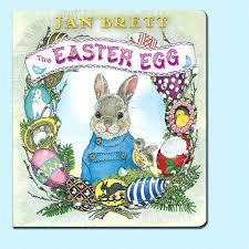 easter bunny book easter egg board book jan brett books tomten catalog