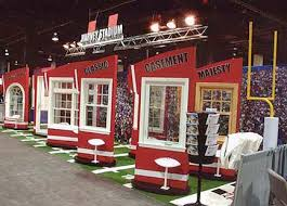themed photo booth trade show booth trade show design harvey windows boston ma