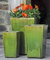 glazed ceramic pots glazed pottery and it s beauty garden fountains com blog