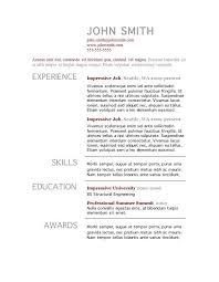 resume template standard standard resume templates to impress any margins for resume cronjob billybullock us