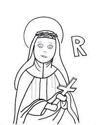 coloring pages at st rose of lima coloring page eson me
