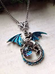dragon glass pendant necklace images 57 dragon necklace fafnir sterling silver 925 red crystal dragon jpg