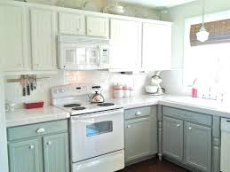 kitchen cabinets a i like this with the white tops backsplash and