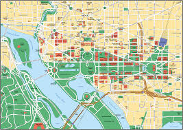 Washington Dc Hotel Map by Map Of Washington D C Yourcitymaps Com