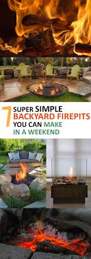 Backyard Firepits 7 Simple Backyard Pits You Can Make In A Weekend Page