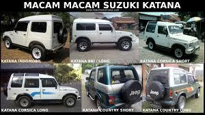 mobil jeep lama macam macam suzuki jimny dan katana di indonesia mobil motor lama