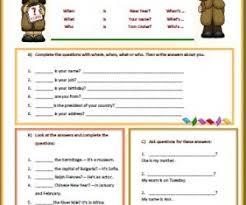 question words worksheet worksheets
