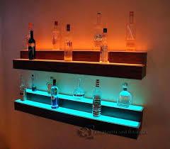 led lighted bar shelves wall bar shelf bar shelves for wall stylist design bar shelves