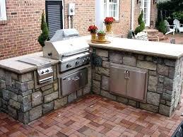 outdoor island kitchen kitchen prefabricated outdoor kitchen islands stylish on lovely bbq