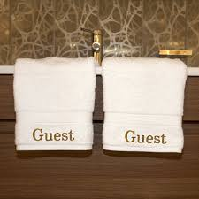 Disposable Guest Hand Towels For Bathroom Luxury Home Hotel U0026 Spa Guest Embroidered Turkish Cotton Hand