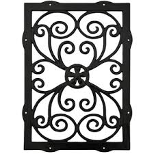 16 x 22 rectangular ornamental gate insert outdoor deck