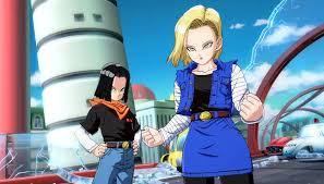 android 17 and 18 fighter z new trailer shows android 17 and 18 joining