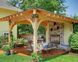 Covered Patio Ideas For Backyard by 22 Beautiful Garden Design Ideas Wooden Pergolas And Gazebos