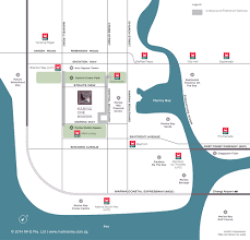 Marina Bay Sands Floor Plan by Location Map