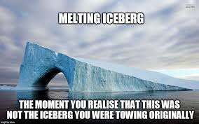 Melting Meme - can we use icebergs as a source of water science abc