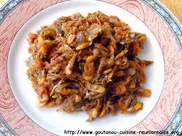 cuisine reunionnaise meilleures recettes rougail chevaquines fraîches par christian antou goutanou cuisine