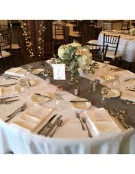 grey table runner wedding grey table runners mercury glass decor for sale chicago suburbs