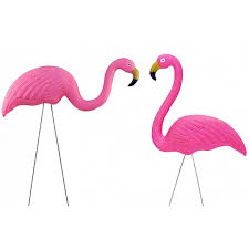 garden ornaments flamingo 2 pk flamingos animals insects