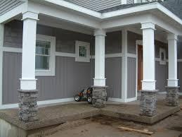 decor awesome decorative exterior columns amazing home design