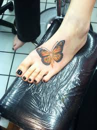 butterfly tattoos ankle i want this for my dad who suffer a from leukemia and my