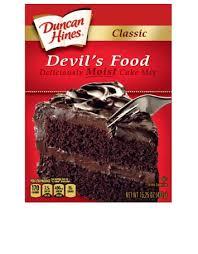 classic devil u0027s food cake mix duncan hines