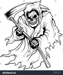 grim reaper stock vector 55511593 shutterstock