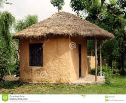A Small House Small House In A Village Stock Photo Image 55425383