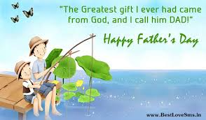 top happy fathers day 2017 sms msg wishes from children