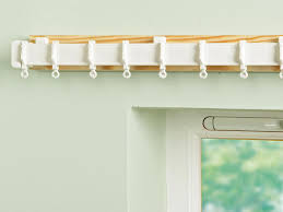 Curtain Railing Designs How To Install A Curtain Rail On A Wall How Tos Diy