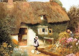 arthur claude strachan 1865 1929 cottages of an