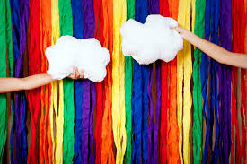 wedding backdrop etsy wedding backdrops etsy handmade weddings rainbow