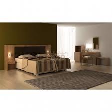 chambre adulte bois adulte spécial hôtellerie tête de lit bois massif h03