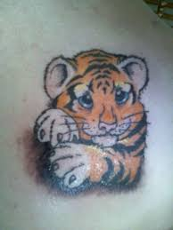 57 baby tiger tattoos ideas