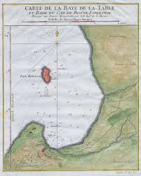 Good Map File 1763 Bellin Map Of Cape Town Cape Of Good Hope South Africa