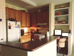 home tour dining kitchen and living rooms our kitchen is pretty small but opens up to the dining room and living room it s really just one big room we also have a little office nook where we