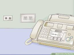 how to use a fax machine with pictures wikihow