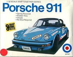 porsche 911 model kit entex 1 32 scale plastic model kits