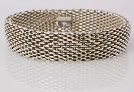 tiffany bracelet images Tiffany co sterling sliver somerset mesh bracelet penny jpg