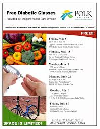 free diabetic classes florida department of health in polk