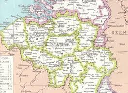 belgium in the map belgium map