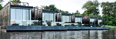 Prefab Homes by Floating Prefab Homes Overlook Gorgeous River Views In Thailand
