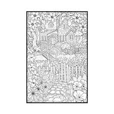 detailed coloring pages adults backyard animals nature