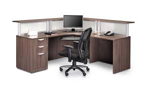 Second Hand Reception Desk by Reception Desks Source Office Furniture Canada