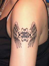 beautiful wing tattoos on arm ideas for and