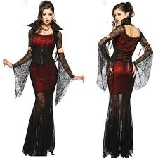 Halloween Costumes Kiss Women Spider Kiss Womens Gothic Vampire Halloween Costume