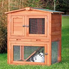 Advantek Stilt House Rabbit Hutch Boomer U0026 George Elevated Rabbit Hutch Hayneedle