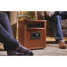 lifesmart infrared heater oak 668641 home heaters at