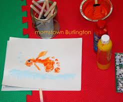thanksgiving footprint crafts fish footprint craft