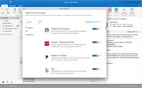 powerful outlook integrations twitter paypal starbucks u0026 more