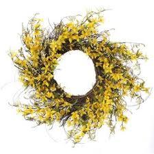 forsythia wreath forsythia wreaths wayfair